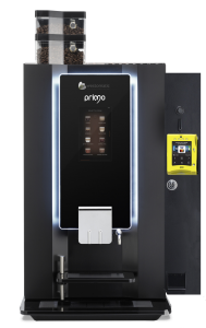 Horeca coffee machine with contactless payment