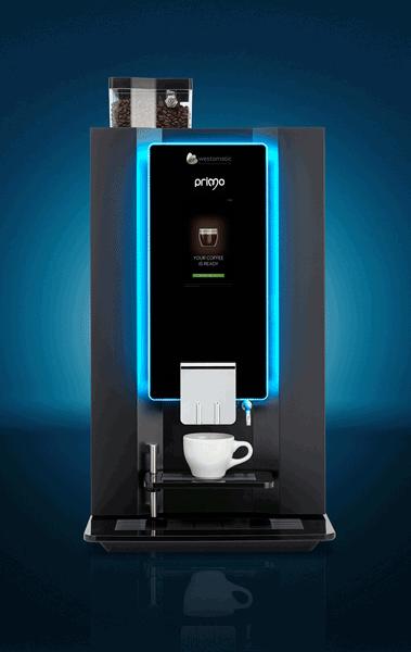 Barista style tabletop coffee machine