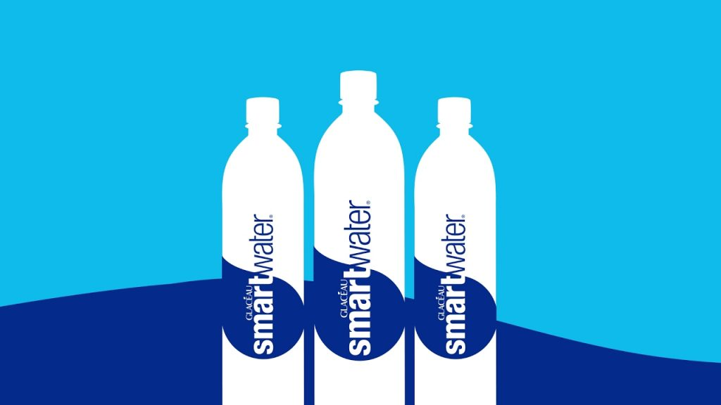 Glaceau Smart Water banner
