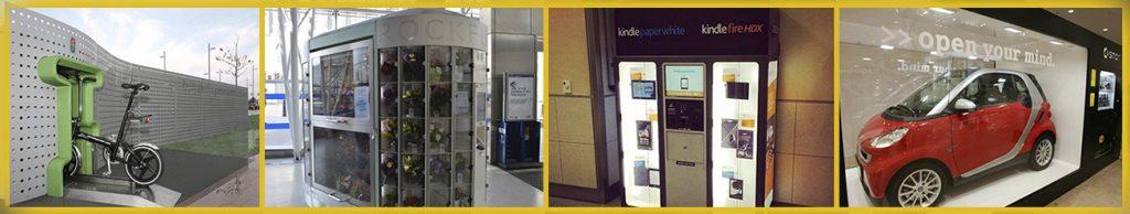 Photo strip displaying alternative vending ideas