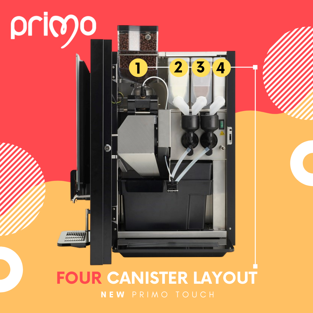 Four Cannister Layout Primo Touch