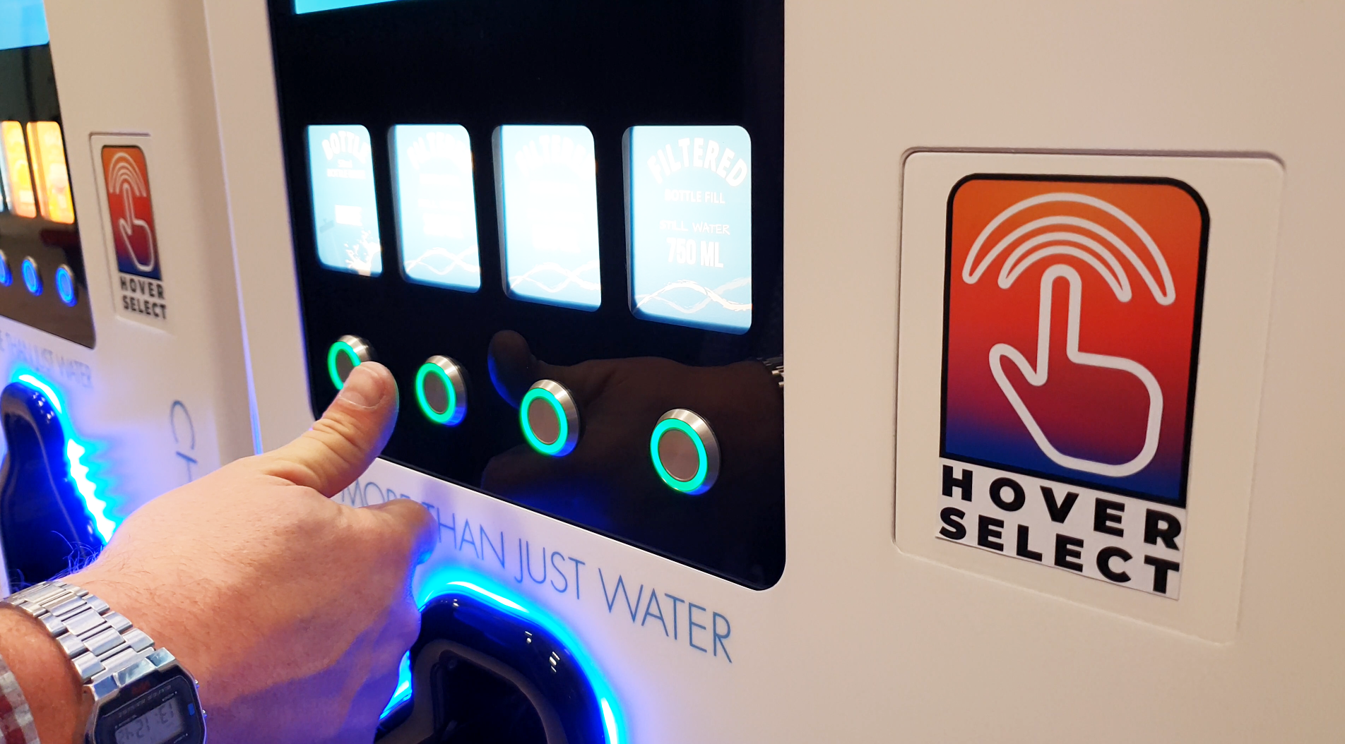 Hover Select Hydration Station