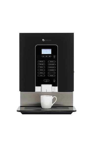 Hot drink machine for hotels