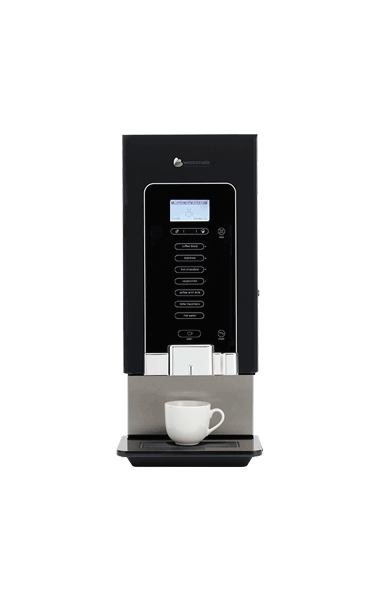 Small tabletop hot drink machine
