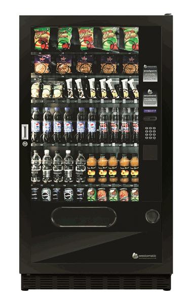Large snack, crisp and drink vending machine